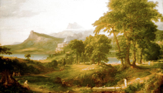 painter thomas cole essay Romantic landscape painter thomas cole, who emigrated from england at the age of seventeen, inspired a generation of american landscape painters known as the hudson river school.