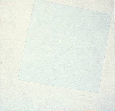 white painting - Malevich